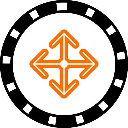 move: arrow move vector icon