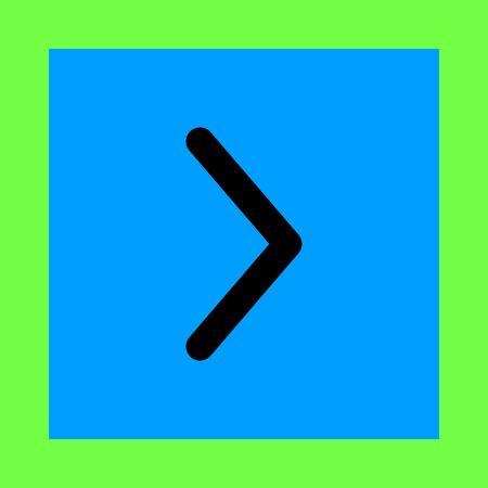 right arrow: flecha a la derecha del icono del vector Vectores
