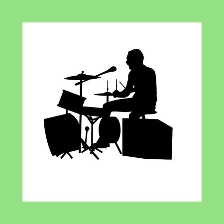 musically: drumer