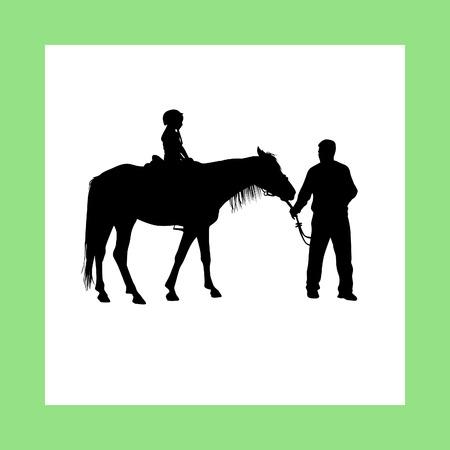 rein: horse riding school