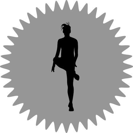 fitness woman: fitness woman