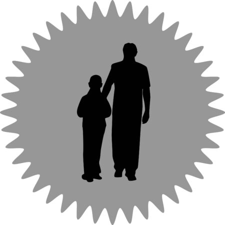 father: father and kid