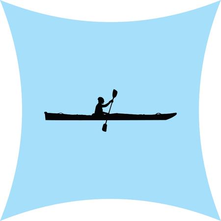 row boat: kayak