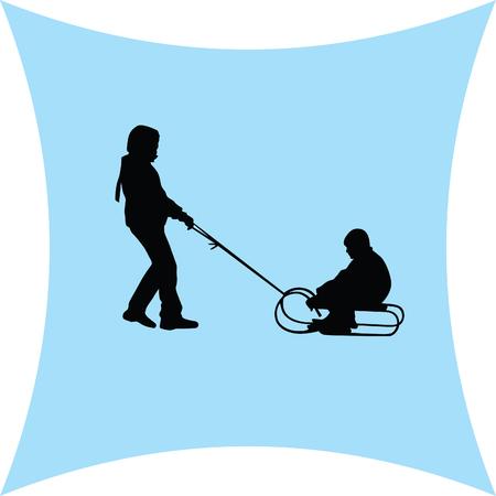 sledding: sledding