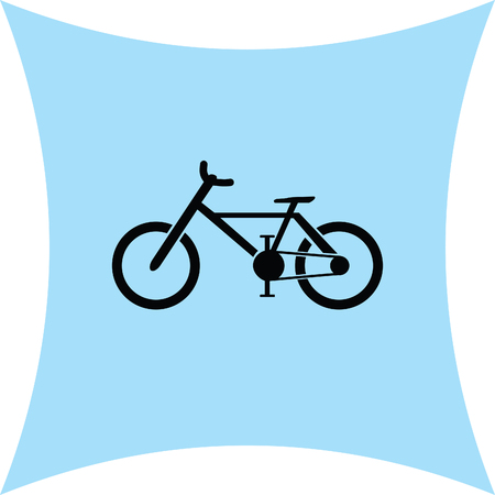 pedaling: bike vector icon