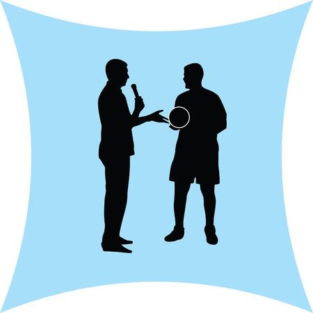 public opinion: interview Illustration