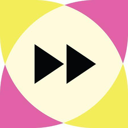 forward: forward button vector icon