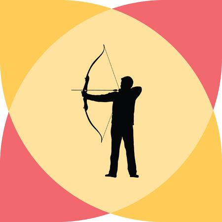 archer: archer bow arrow Illustration