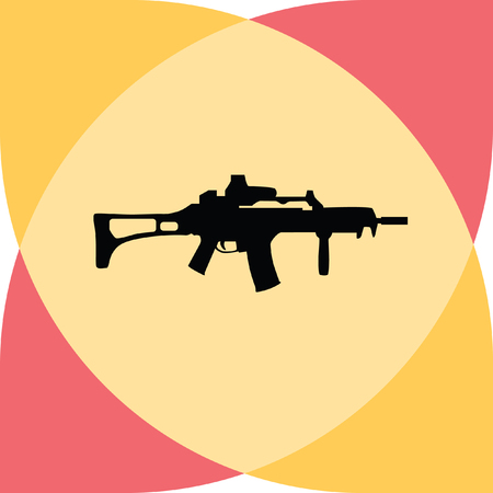 violence and trigger: rifle