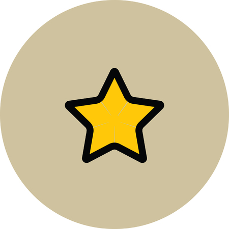 product reviews: gold star favorite icon