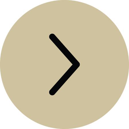 ways to go: right arrow vector icon