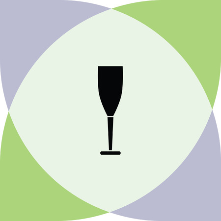 wineglass: drinking glass vector icon