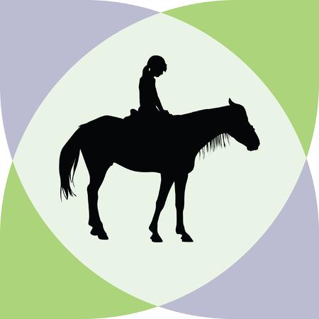 uomo a cavallo: maneggio