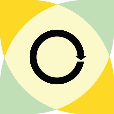 rotation arrow Illustration