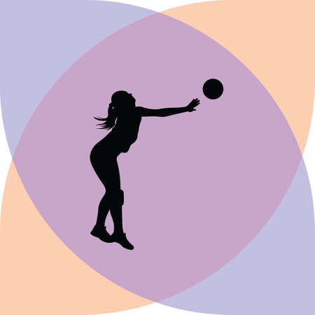 volleyball woman player