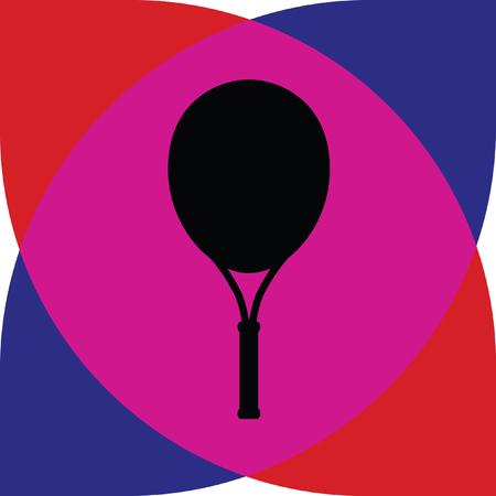 tennis racket Illustration