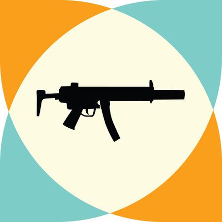 automatic rifle: rifle