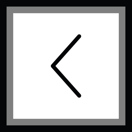 left arrow: left arrow vector icon