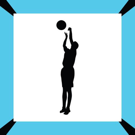 basketball player Stock Vector - 65825447