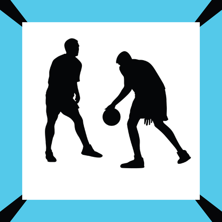 basketball player Stock Vector - 65827937