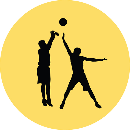 basketball player Stock Vector - 66424694