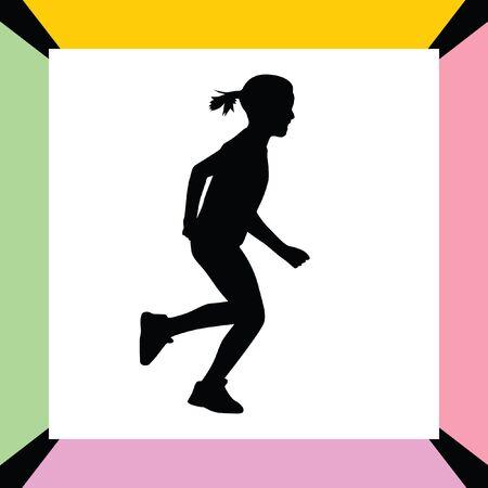 jog: runner