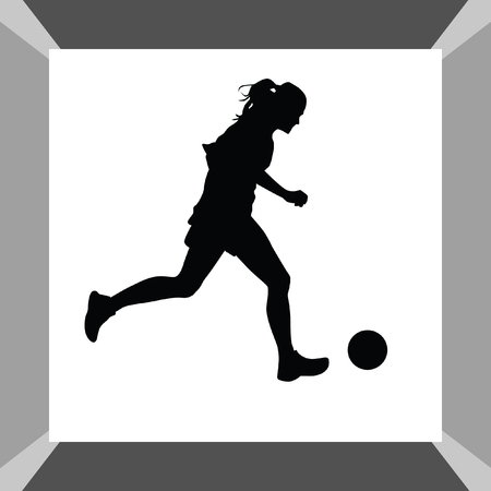 arquero de futbol: woman soccer player