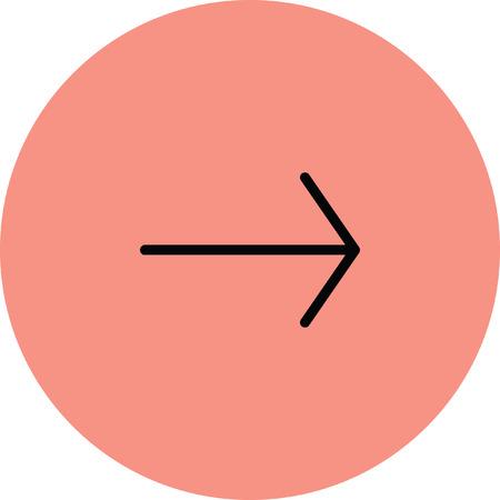 next icon: arrow next Illustration