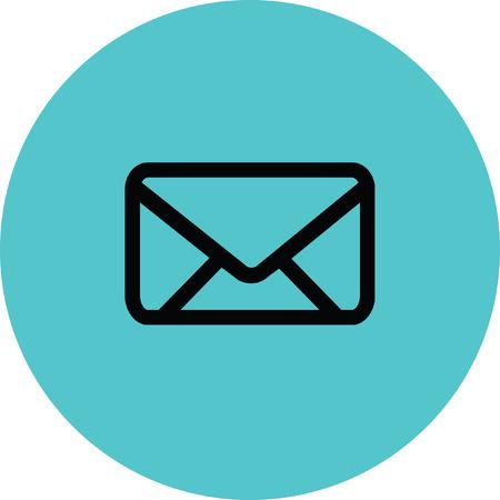Email icon Illustration