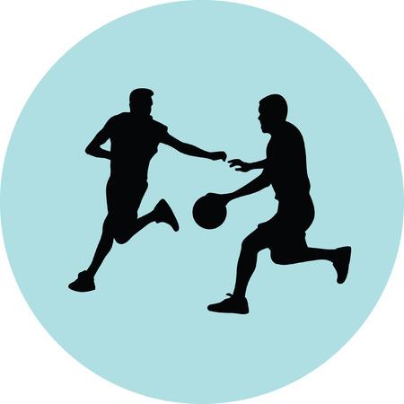 basketball player Stock Vector - 67714133