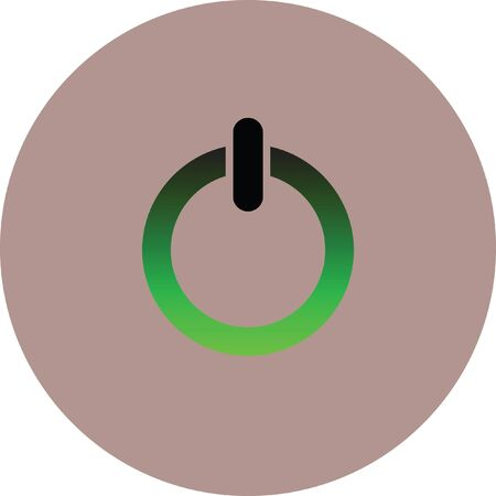 power button vector icon
