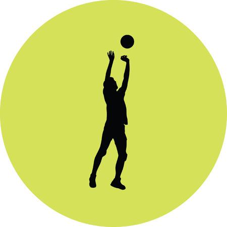 smashing: volleyball