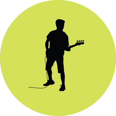 guitarist Illustration