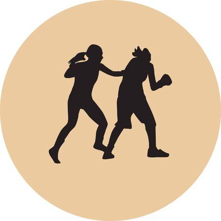 boxer woman