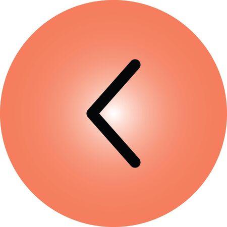 left arrow: left arrow vector icon