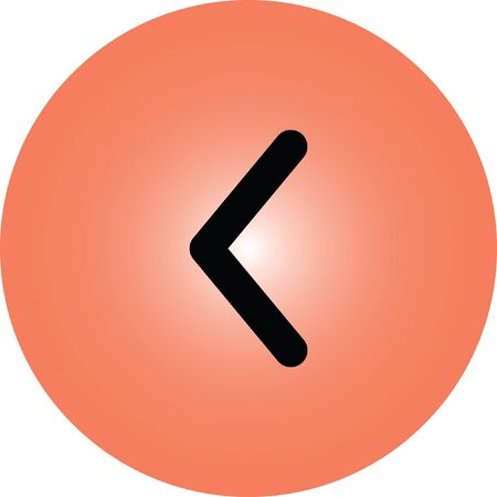 next icon: left arrow vector icon