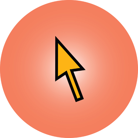 selector: mouse click pointer cursor arrow