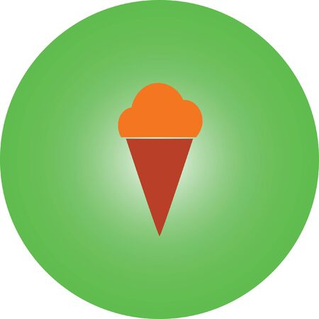ice cream vector icon