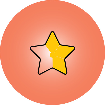 favorite: gold star favorite icon