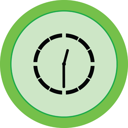 stopwatch timer flat icon