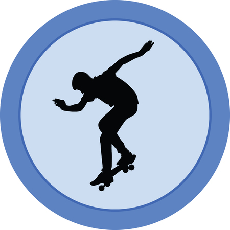 skateboarder Illustration