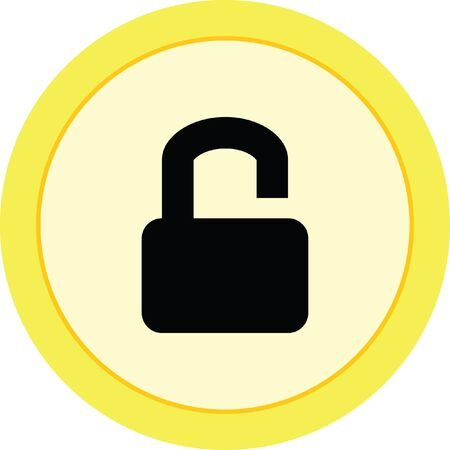 lock sign icon padlock
