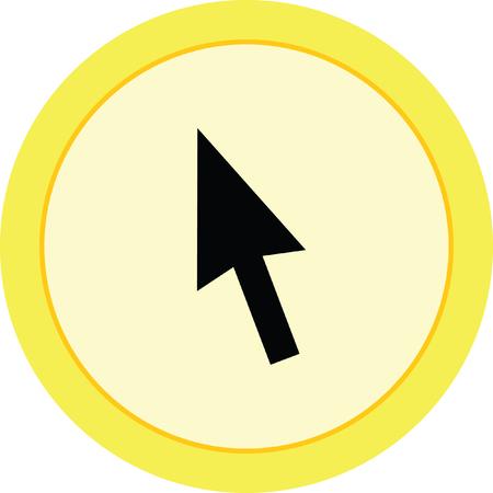 cursor arrow: mouse click pointer cursor arrow