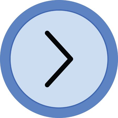 right arrow vector icon