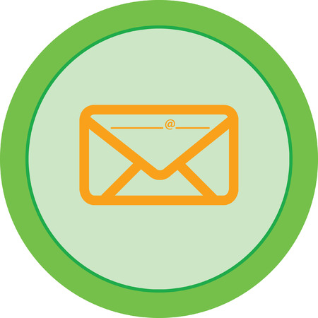 Email icon Illustration