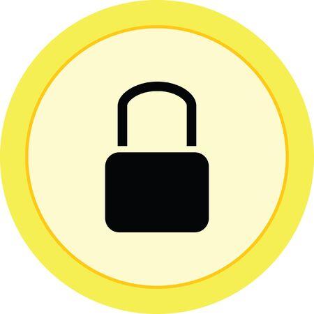lock sign icon padlock