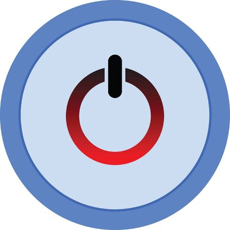 power button vector icon