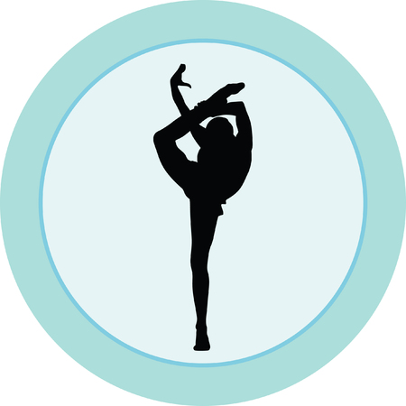 black youth: rhythmic gymnastics with ball