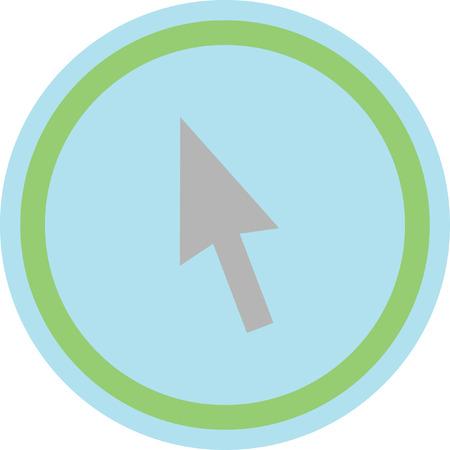 mouse click pointer cursor arrow