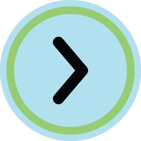 exit sign icon: right arrow vector icon